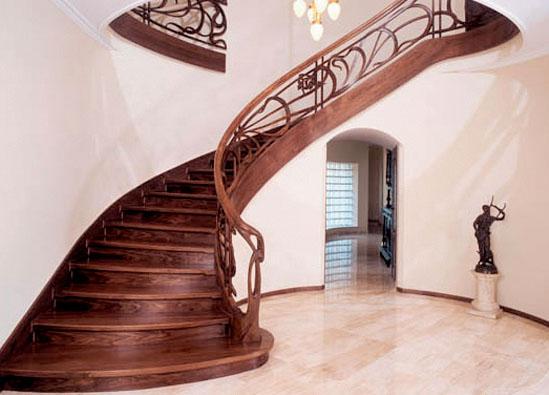 Оригинальные и изысканные решения лестниц в