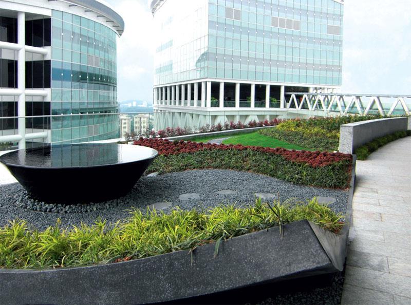 Зеленая крыша для города (Фото: ООО «ЗинКо Украина» (ZinCo))