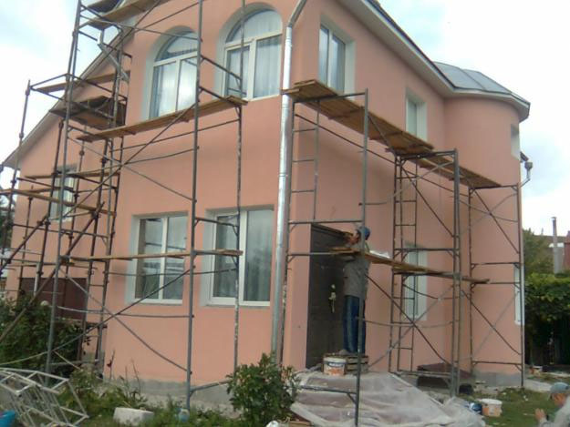 Утепление фасада дома мокрым способом