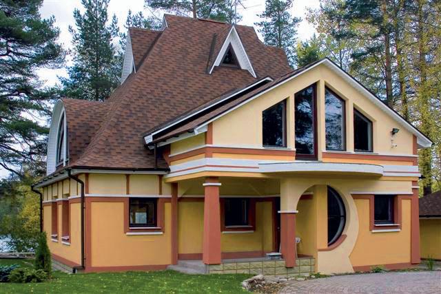 Дом в стиле китч (Фото: svarchitect.blogspot.com)