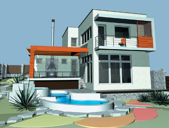 Дом в стиле хай-тек (Фото: ЦПП)