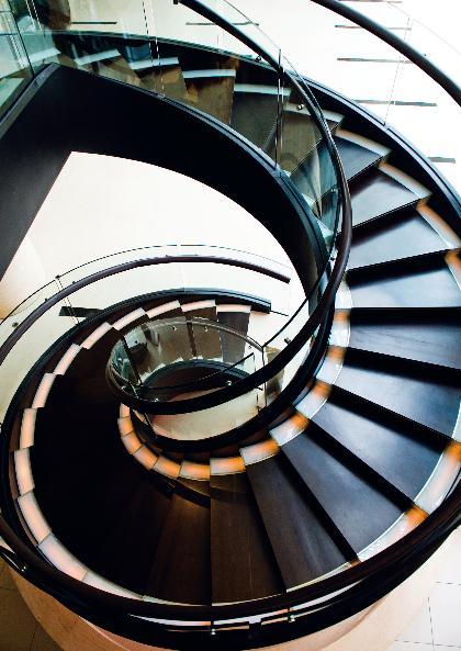 Эстетичное решение массивного винтового сооружения (Фото: Flickr)