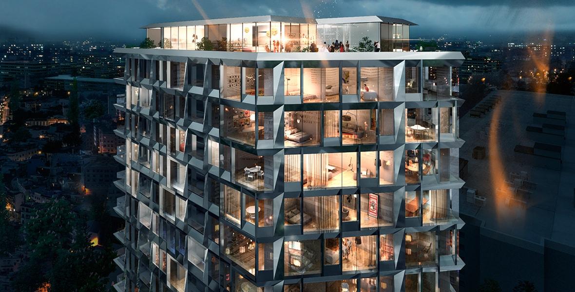 Обзор двухкомнатных квартир в клубном доме бизнес-класса PHILADELPHIA Concept House