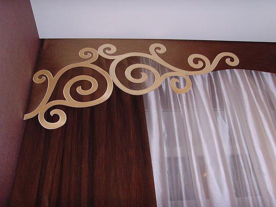Декор штор своими руками (фото)