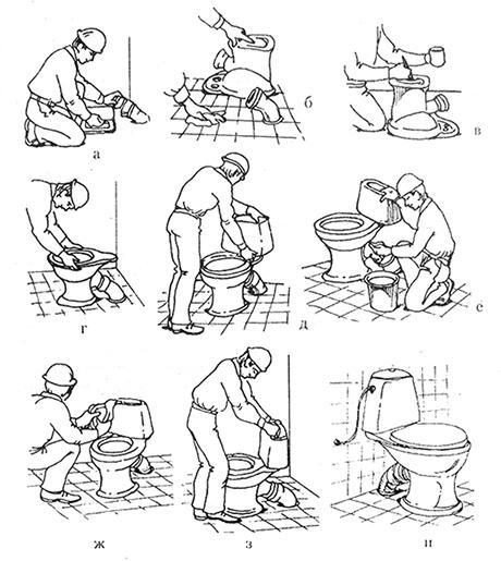 Как и чем склеить разбитую сантехнику?