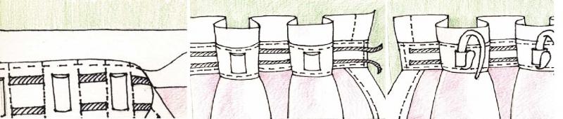 Как пришить шторную ленту: технологии применения узкой и широкой лент