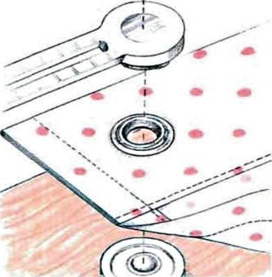 Как сшить шторы с кольцами: установка люверсов