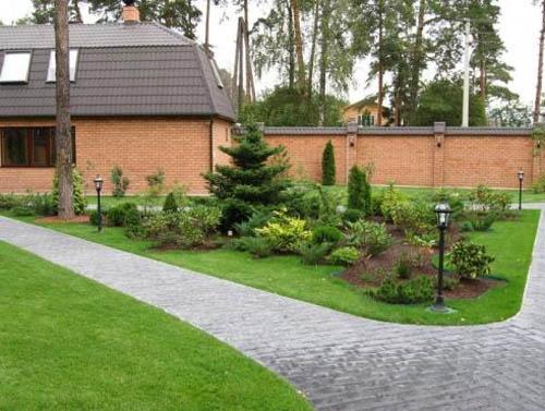 Ландшафтный дизайн и благоустройство придомовой территории: как сделать участок красивым и удобным