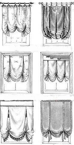 Лондонская штора своими руками: технология пошива, особенности