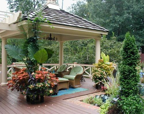 Обустраиваем зону отдыха в саду