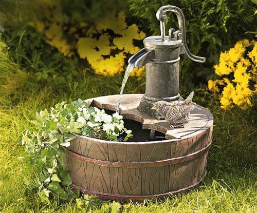 Обустройство сада: выбираем садовый фонтан