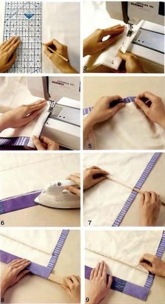 Простые шторы своими руками: технология изготовления