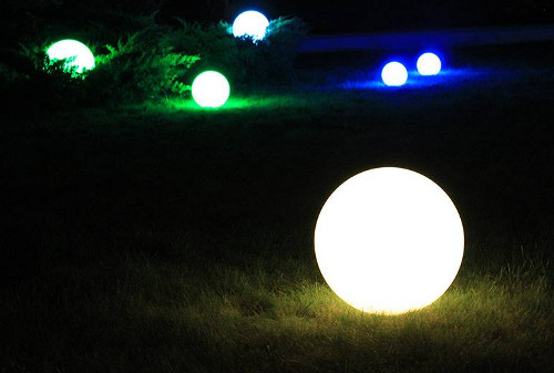 Светильник-шар для освещения вашего сада