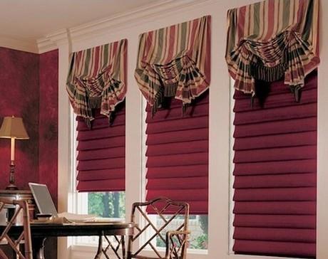 Технология пошива штор своими руками: портьеры и римские занавески