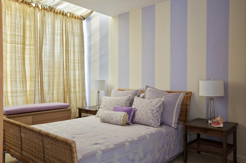 Выбор гардины для спальни: шторы, портьеры
