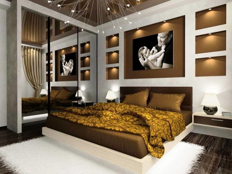 Дизайн спальни с балконом или лоджией — создать своими руками