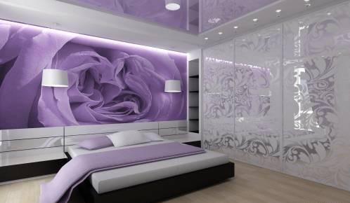 Фотообои в интерьере спальни: правила выбора и рекомендации (фото и видео)