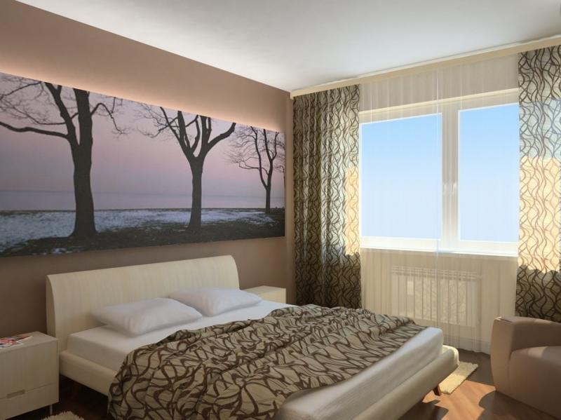 Красивые спальни: дизайн небольшого помещения
