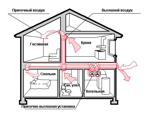 Рекомендации по устройству вентиляции в санузле