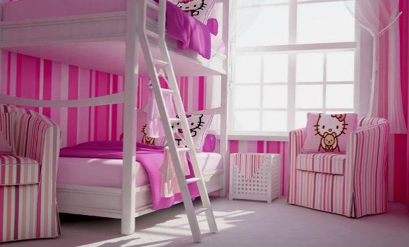Спальня для двух девочек: подбор цвета и мебели, рекомендации