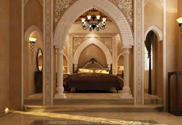 Спальня в арабском стиле: рекомендации по оформлению интерьера