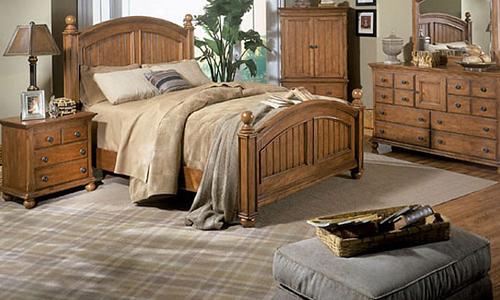 Спальня в деревенском стиле (кантри) своими руками (фото)