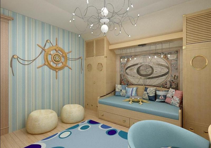 Спальня в морском стиле своими руками: дизайн (фото)