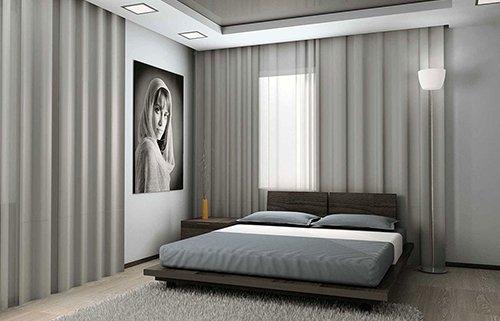 Спальня в стиле минимализм: описание, мебель, советы (фото)