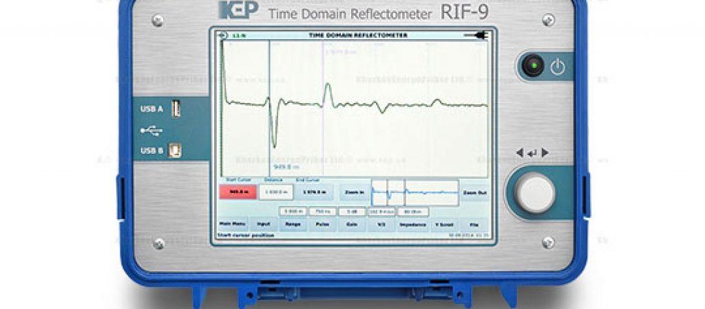 Электроизмерительные приборы для поиска неисправностей кабелей. РИФ-9 — цифровой импульсный рефлектометр