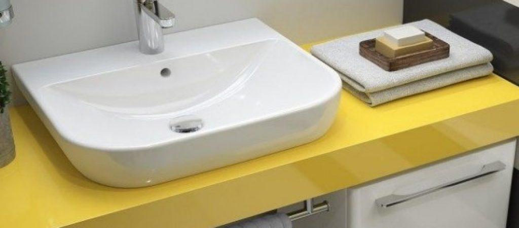 Обустройство ванной комнаты. Раковины над стиральной машиной