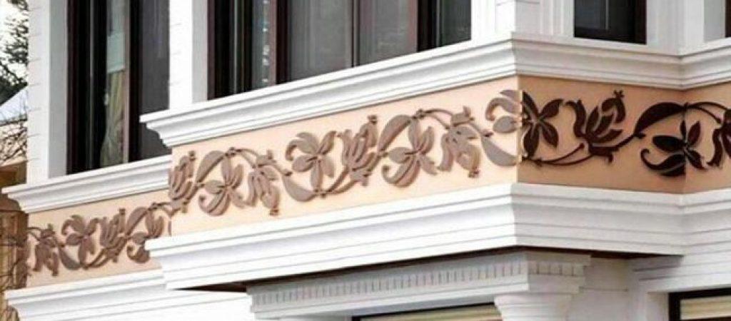 Декоративные элементы фасада из гипса — это вложение в вашу недвижимость