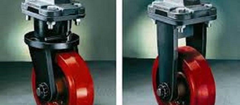 Аппаратные колеса и ролики для тележки