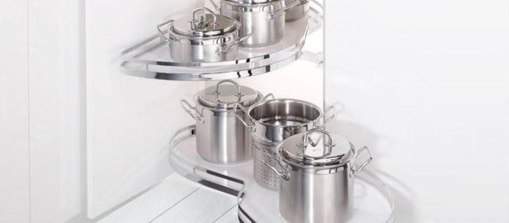Кухонные выдвижные системы и ведро для мусора