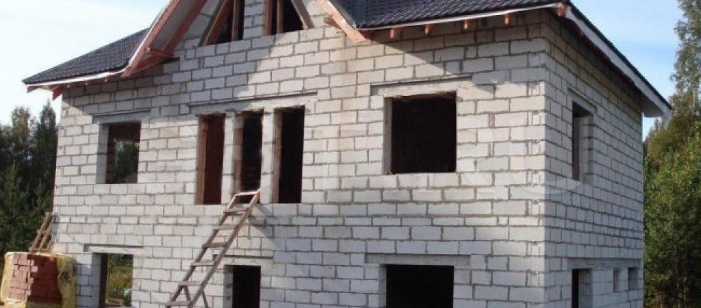 Строительство домов из блоков в Казани