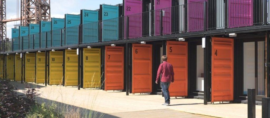 Где арендовать контейнер под склад?