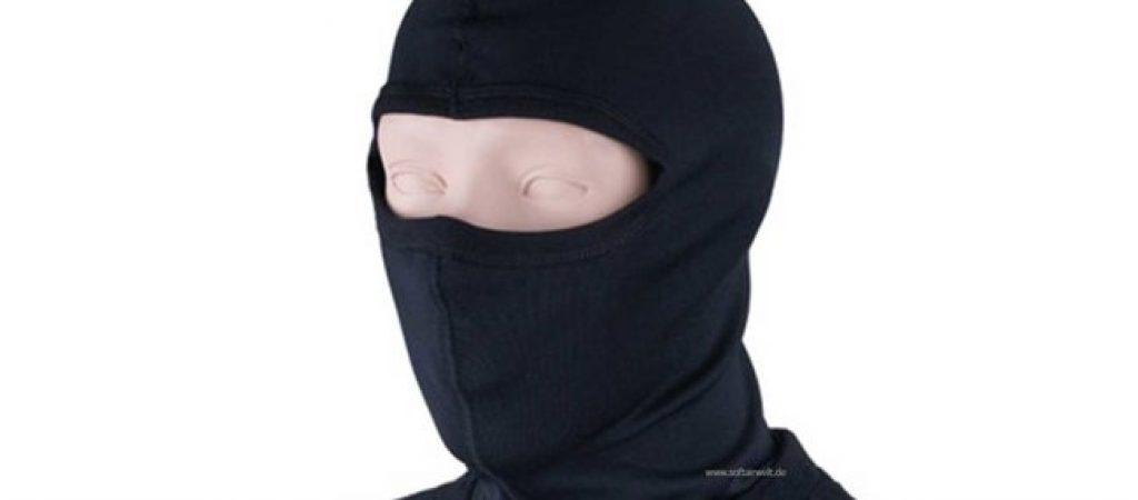 Места применения масок шапок и балаклав