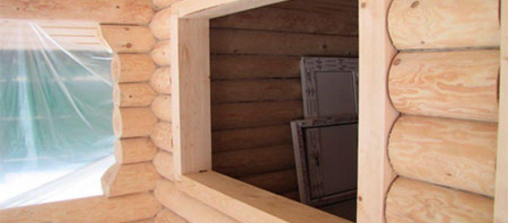 Когда лучше делать обсаду деревянного дома