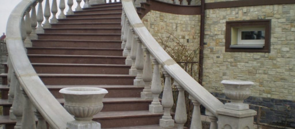 Изготовление бетонных лестниц в Киеве