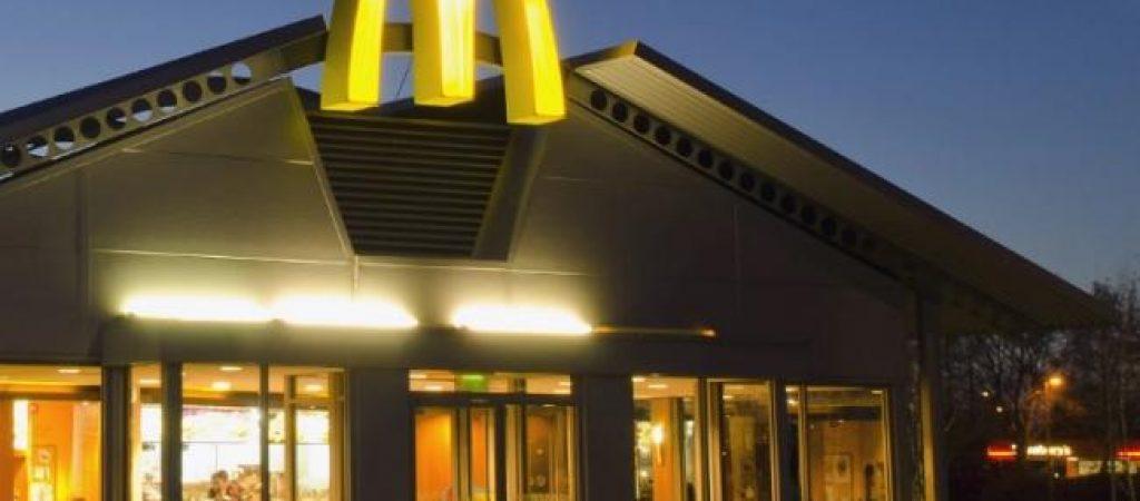 Услуги доставки еды от ресторана Макдональдс