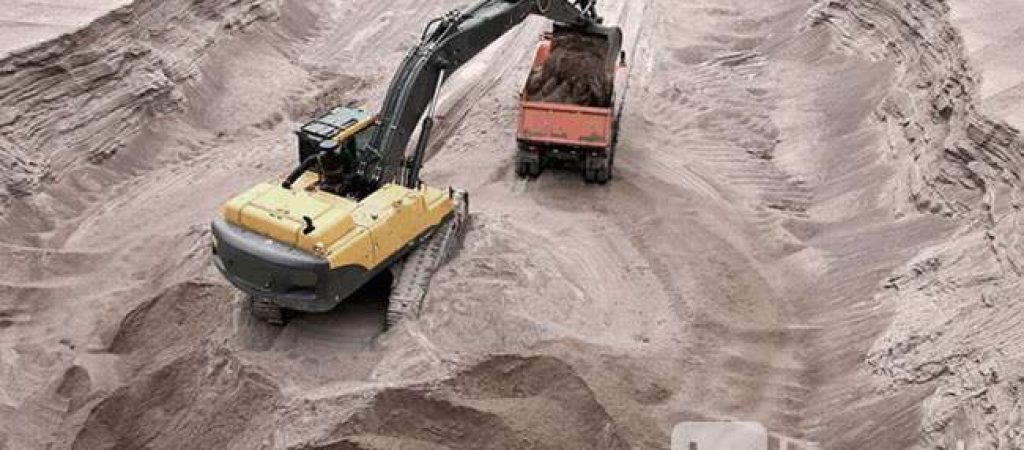 Управление начального строительства — поставки песка и щебня