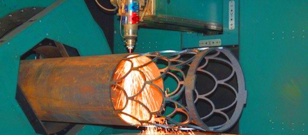 Лазерная 3D резка труб спец. оборудованием