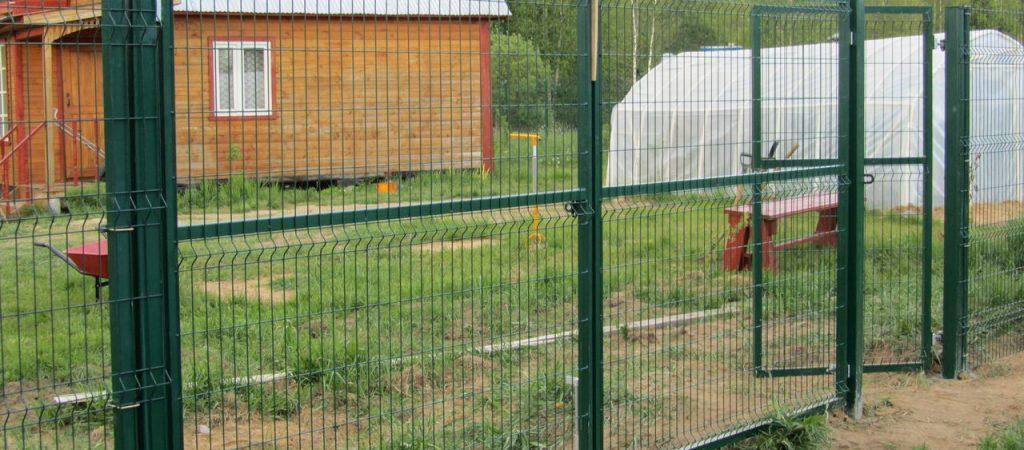 Забор из 3Д сетки с установкой в Новокузнецке