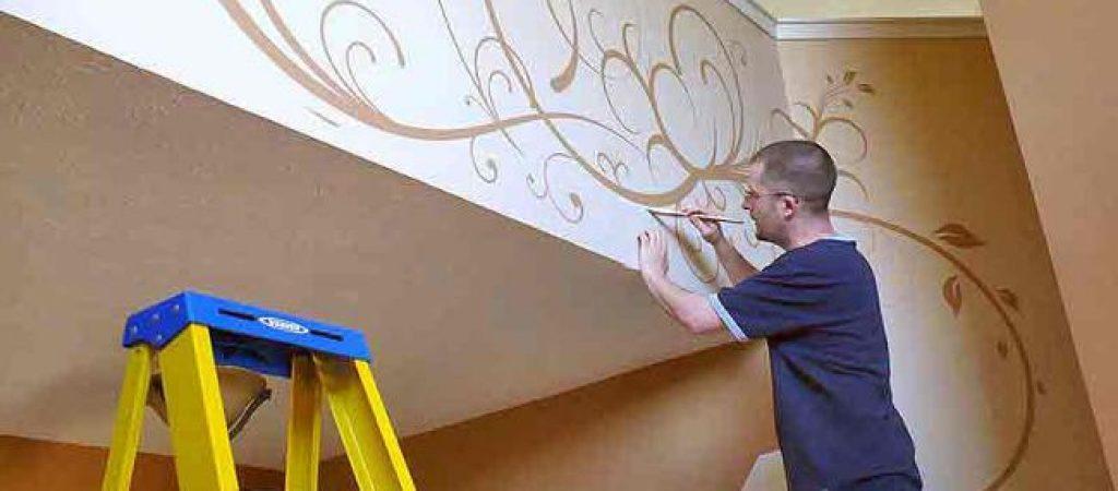 Как заказать декоративную краску и штукатуру для стен, потолков или других поверхностей?