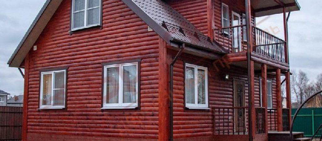 Строительство дома из сухого бруса – быстро и экономично