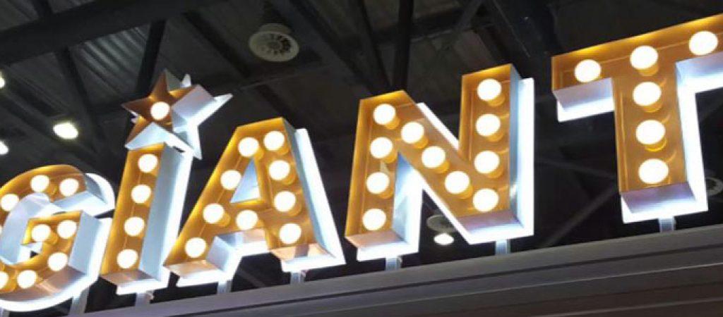 Изготовление светодиодных вывесок и объемных букв