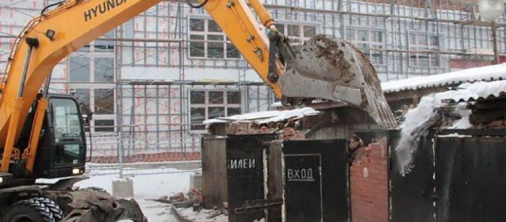 Разбор и вывоз металлоконструкций, гаражей в металлолом